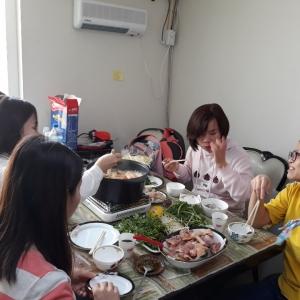 """영남국제결혼에서 마련한 베트남 신부들의 모임 """"고향 음식 잔치"""""""